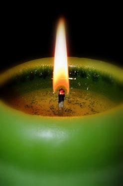 Денежные (зелёные) свечи